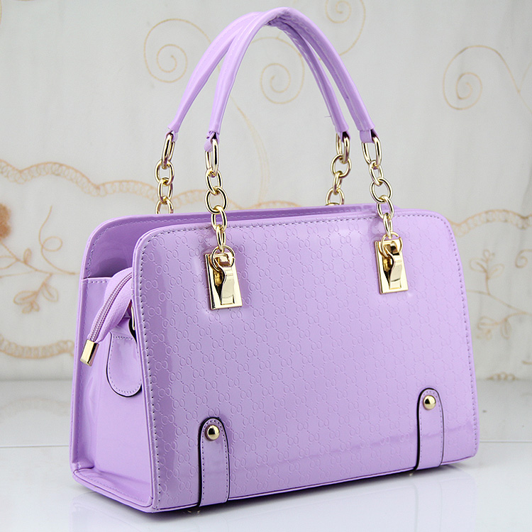 Gorgeous Design Women Leather Handbags Tote For Las Fashion Chain Gold Hardwork Lady S Ol Candy Color Messenger Shoulder Bag In Top Handle Bags From