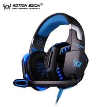 KOTION EACH G2000 font b Gaming b font headset pc Gamer Headphones luminous font b auriculares