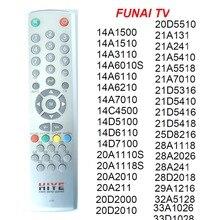 RC 2240 שלט רחוק עבור FUNAI טלוויזיה 14A ,14C ,14D, 20A 20D 21A 21D 25D 28A 28D 29A 32A 33A, ישירות להשתמש בקר.