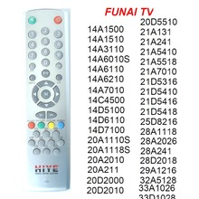 RC 2240 Điều Khiển Từ Xa Cho FUNAI Tivi 14A ,14C ,14D, 20A 20D 21A 21D 25D 28A 28D 29A 32A 33A, Trực Tiếp Sử Dụng Bộ Điều Khiển.