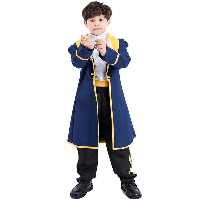 e4e303f3d350 Kid Prince Beast Costume Beauty and the Beast Costume Cosplay ...