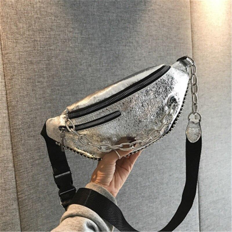 Mode taille sac femmes taille Packs sacs femme en cuir ceinture sac pour filles Fanny Pack été taille sac hommes poitrine Pack dames sac
