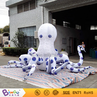 2017 Giant inflatable Octopus, inflatable jellyfish cartoon 5M / 16ft wide inflatable octopus balloons with Blower octopus toys