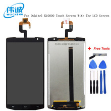 For 5.5 Inch Oukitel K1000 Black Bull P5 LCD Display with Touch Panel Screen Sensor Repair Replacement Part + Tracking Number