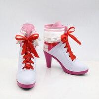 נעלי מגפי קוספליי LoveLive לאחר פעילות בית הספר חלום אהבה בשידור חי שער נשים קרסול מגפי Custom Made