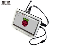 E&M 7 Inch 1024*600 Capacitive Touch IPS Touch Display Screen LCD Monitor Module HMDI Portable Raspberry Pi 3 B Windows 10 Linux