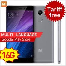 "Оригинал Xiaomi Redmi 4 2 ГБ RAM 16 ГБ ROM Snapdragon 430 4100 мАч Батареи Отпечатков Пальцев ID 5.0 ""13MP Камера мобильного телефона xaomi redmi4(China (Mainland))"