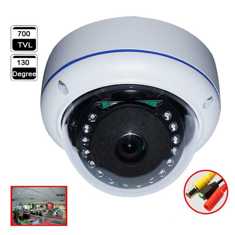 ФОТО Aokwe Fish eye IR 130 degree angle Vandalproof dome camera with Effio-E 700TVL high definition