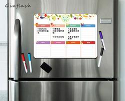 21*28 см мягкий холодильник гибкий ПЭТ Свет Доска сообщения доска магнитная Примечание холодильник водонепроница 1 маркер и 2 кнопки
