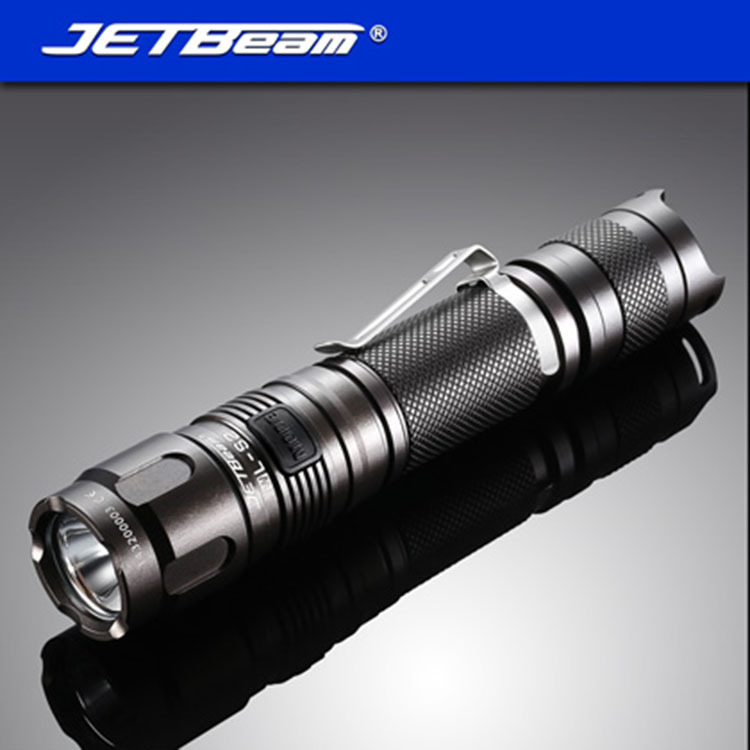 JETBEAM WL-S2 Cree XM-L2 LED 1080 lumens Led Flashlight Daily Torpatible by 18650 16340 battery for Camping free shipping jetbeam niteye ko 01 tactical flashlight 1080 lumen by 1 18650 side switch torch