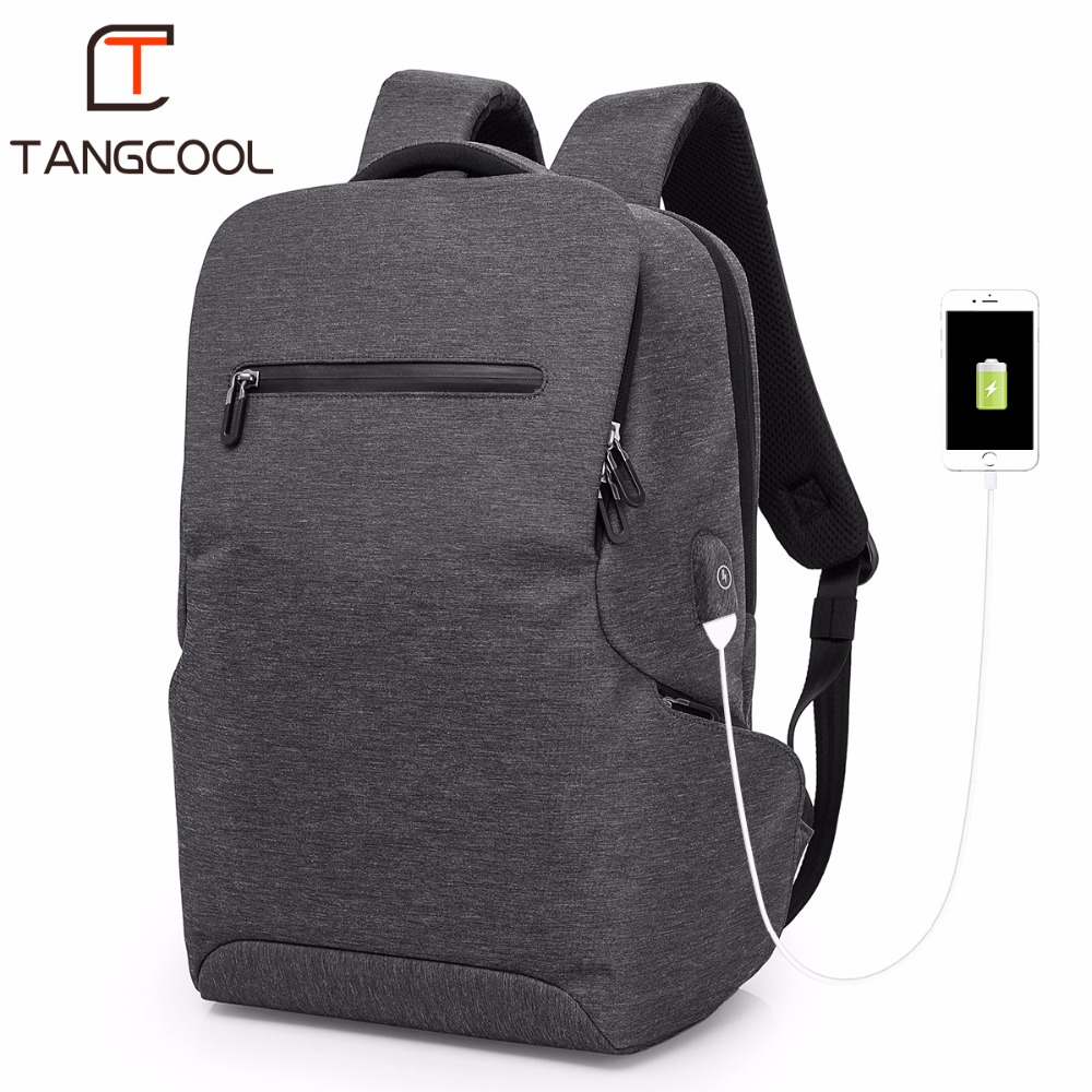 2019 New Fashion Tangcoo Brand Men 15 6 Laptop Backpacks Travel Women Shoulder Bags Leisure Boys