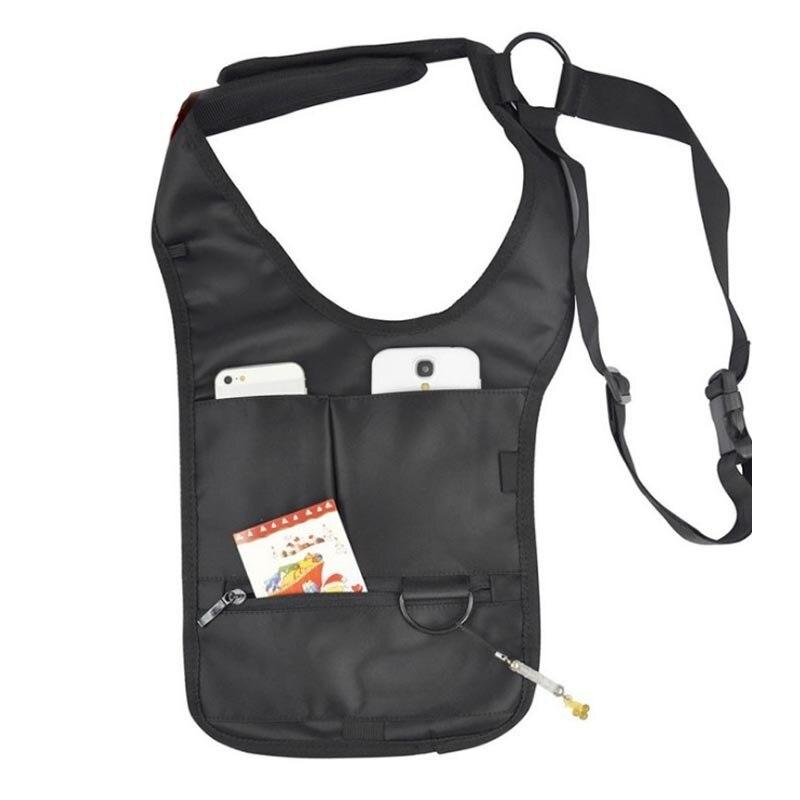 100% Wahr Männlichen Männer Sicherheit Holster Riemen Messenger Bags Unsichtbare Schulter Tasche Frauen Diebstahl Achselhöhle Querpaket Diebstahl Tasche Paket BüGeln Nicht