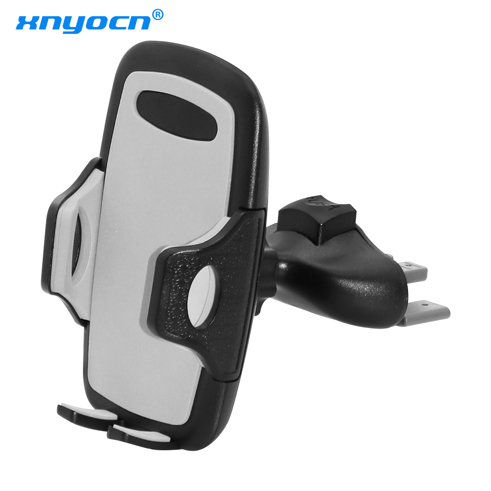 Universal Car Phone Holder CD Slot Stand Mount Mobile Support Cellular Phone Smartphone Holder In Car For Iphone7 8 Plus X XS