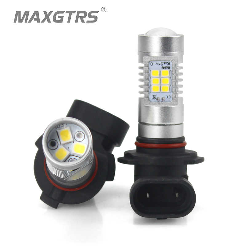 2x Car Fog Led Lights Bulb H8 H11 Led HB4 9006 HB3 9005 H16 EU 1200LM 6000K 4300K Warm White Auto Driving DRL Replace Light 12V