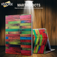 KISSCASE Cool Wood Pattern Flip Case For IPad Air 1 2 Ultra Slim Protective Case Cover