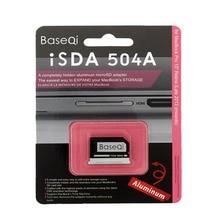 BaseQi alumínio stealth drive micro sd/tf adaptador de cartão de memória leitor de cartão sd para macbook pro retina 15 polegadas (final de 2013 meados de 2015)