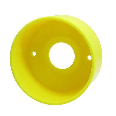 цена на 22mm Dia Push Button Switch Plastic Circle Protective Housing Guard Cover
