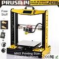 2 KG filament SDcard mais popular! 3D montado um conjunto de máquina replicador de impressora PLA / ABS prusa i4 impressora 3D na china