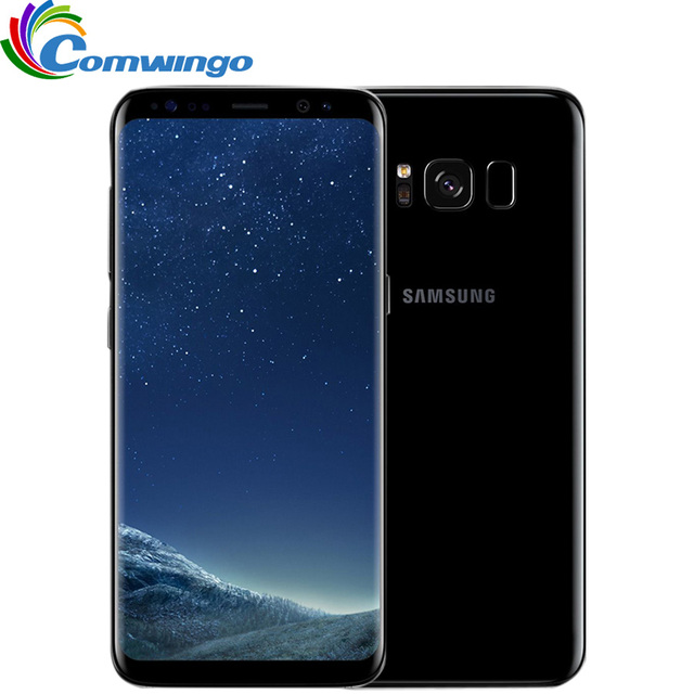 Original Samsung Galaxy S8  4GB RAM 64GB ROM 4G LTE Mobile Phone  5.8 inch Octa Core Smartphone 3000mAh samsung s8