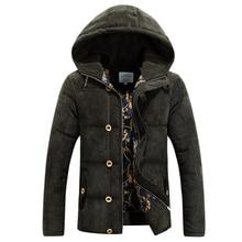 Free shipping Winter Jacket Men 2015 new fashion men's jackets winter coat for men hooded down cotton jacket coat parka