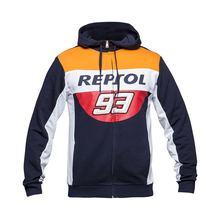 2018 novo camisola de algodão Moto GP Marquez 93 esportes revestimento da motocicleta de corrida terno