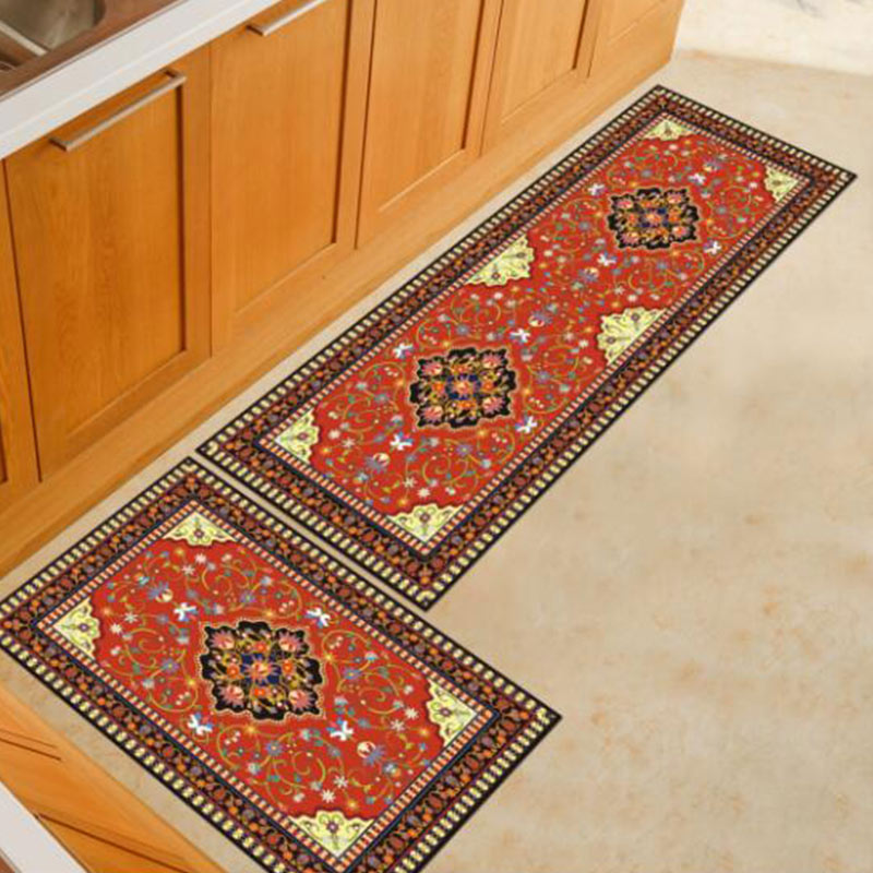 Simple And Cozy Restaurant Carpet Long Kitchen Living Room Anti slip Rugs For Bathroom Bathroom Bedroom Bedside Door Mats in Rug from Home Garden