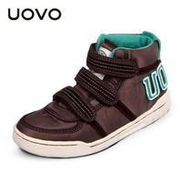 Girls Boys Casual Shoes High Top Loafer EU28 41 Zapatos Ninos Sport Shoes Uovo Brand Fashion