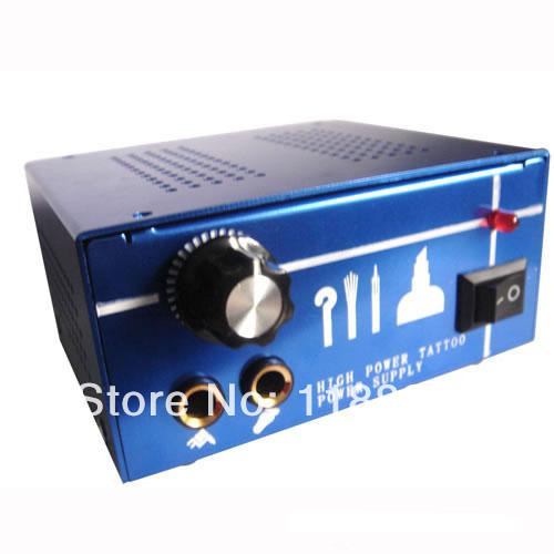 Professional Dual Output Power Supply Power Supply Tattoo Power Supply for tattoo machine gun kit high quality free shipping
