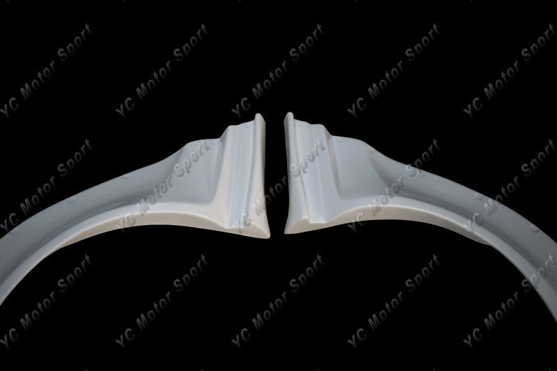 2011-2013 VW Scirocco R Karztrec Style Rear Over Fender Flare FRP (7)