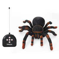 الحيوانات محاكاة العنكبوت rc التحكم عن الحيل نكتة لعبة لعب الأطفال أطفال مضحك الجدة الكمامات النكات العملية