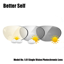 1.61 Single Vision Transitions Sunglasses Lens Photogrey Photobrown Suitable For Rimless Frame Photochromic Glasses Better Self assessing suitable alternatives for better livelihood