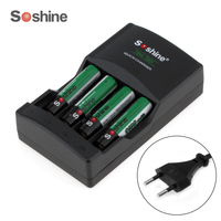 4pcs Soshine Ni MH 1 2V AAA Battery 1100mAh Batteries Rechargeable Battery Portable Battery Box 4