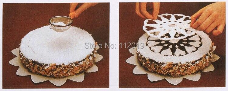 New 6Pcs/pack Cake Cupcake Stencil Template Mold Birthday Xmas ... on