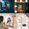 LED Vanity Mirror Hollywood DIY Dressing Table Lamp With Kit LED Lamps Dresser Mirror Plug In