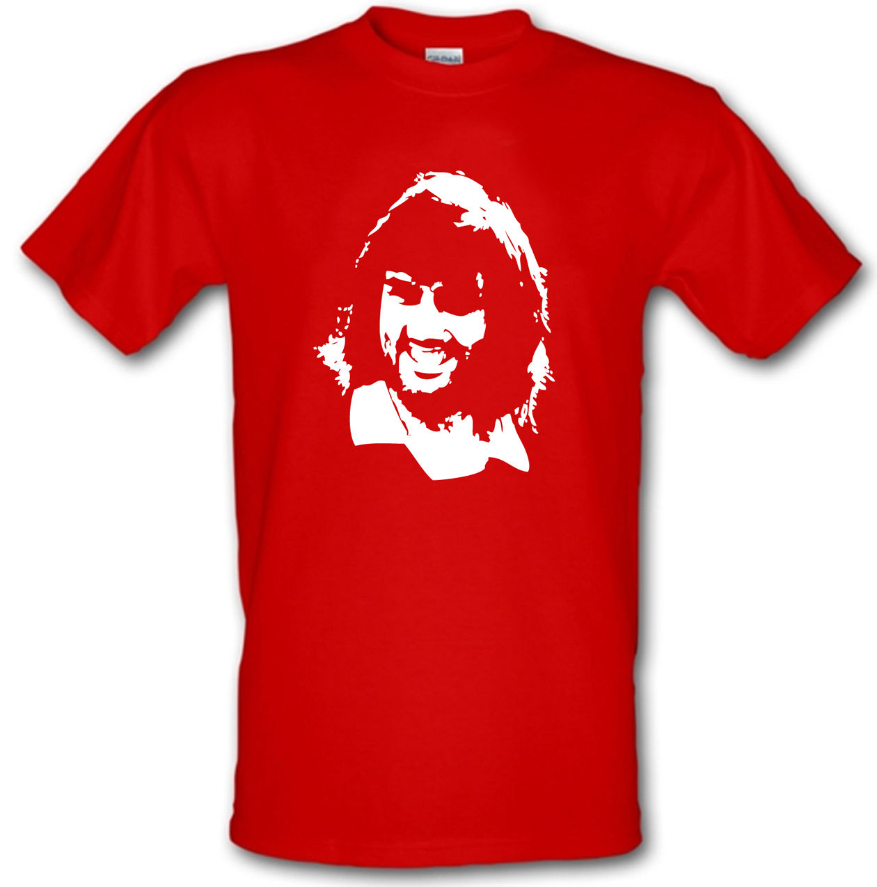 GEORGE BEST Man United Footballer Legend Heavy Cotton T-shirt Sizes Small -XXL image
