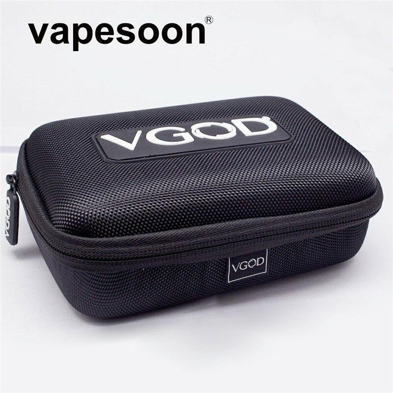 D'origine VGOD Cas Sac pour Cigarette Électronique Vaporisateur Kit comme iJust S iStick Pico Mod Melo 3 Mini Réservoir BRICOLAGE Outils liquide Bouteille etc