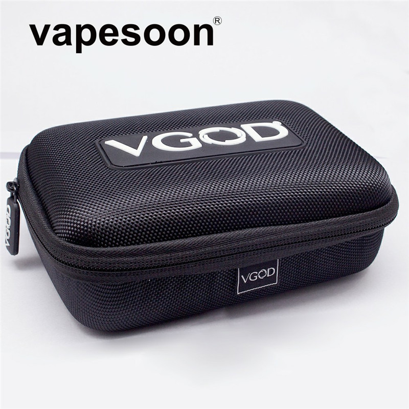 Original VGOD Case Bag for Electronic Cigarette Vape Kit as iJust S iStick Pico Mod Melo 3 Mini Tank DIY Tools liquid Bottle etcOriginal VGOD Case Bag for Electronic Cigarette Vape Kit as iJust S iStick Pico Mod Melo 3 Mini Tank DIY Tools liquid Bottle etc