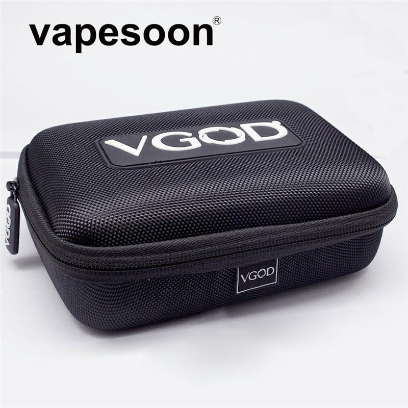 Originale VGOD Custodia Borsa per Sigaretta Elettronica Vape Kit come iJust S iStick Pico Mod Melo 3 Mini Carro Armato Strumenti FAI DA TE Bottiglia di liquido ecc