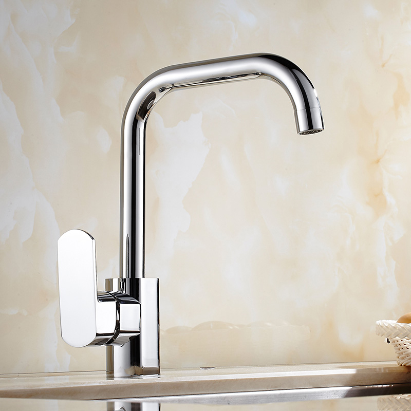 High Quality New Arrival kitchen faucet chrome brass hot and cold water tap sink mixer tap wash basin faucet basin mixer цена 2017