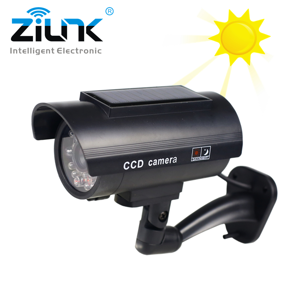 Simulation Dummy Fake Camera Solar Power Waterproof Outdoor Indoor Security CCTV Surveillance Camera Bullet Flashing LED LightSimulation Dummy Fake Camera Solar Power Waterproof Outdoor Indoor Security CCTV Surveillance Camera Bullet Flashing LED Light
