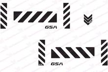 "GS Motorcycle Reflective Decal Kit ""GSA Large "" for Touratech Panniers"