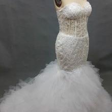 kejiadian Mermaid Wedding Dress Backless Bride Dress