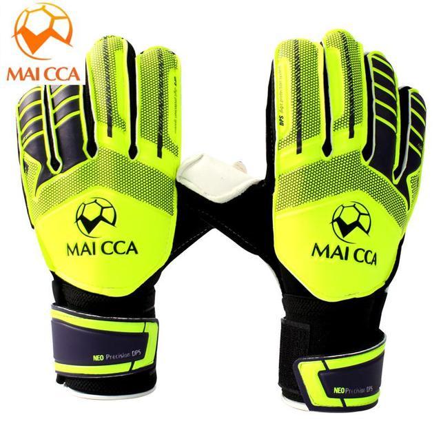 3d5e38fec 2018 Professional Football Goalkeeper Gloves Kids Football Gloves Boys  Thicken Latex Soccer Goal Keeper Goalie Training Gloves