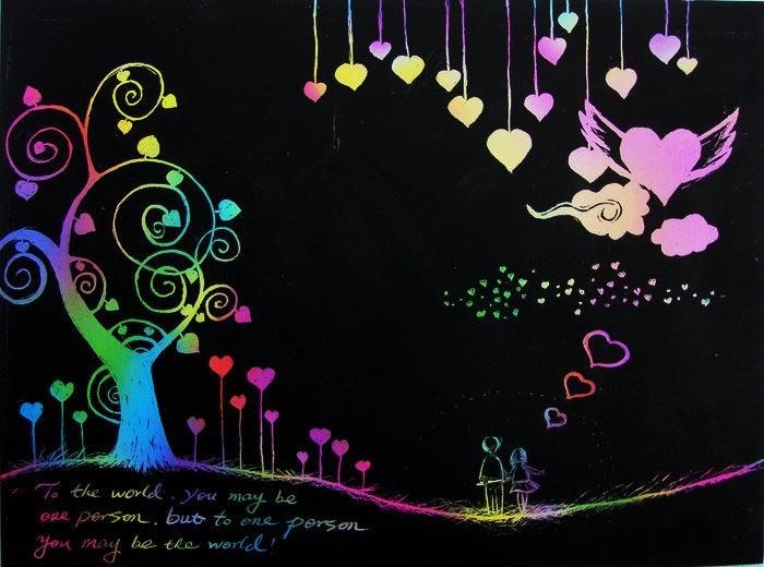 Бесплатная доставка 1000 шт. нуля Книги по искусству Бумага рисунок студент класса Любимое DIY отправить bamboo pen продвижение мода подарок сказат...