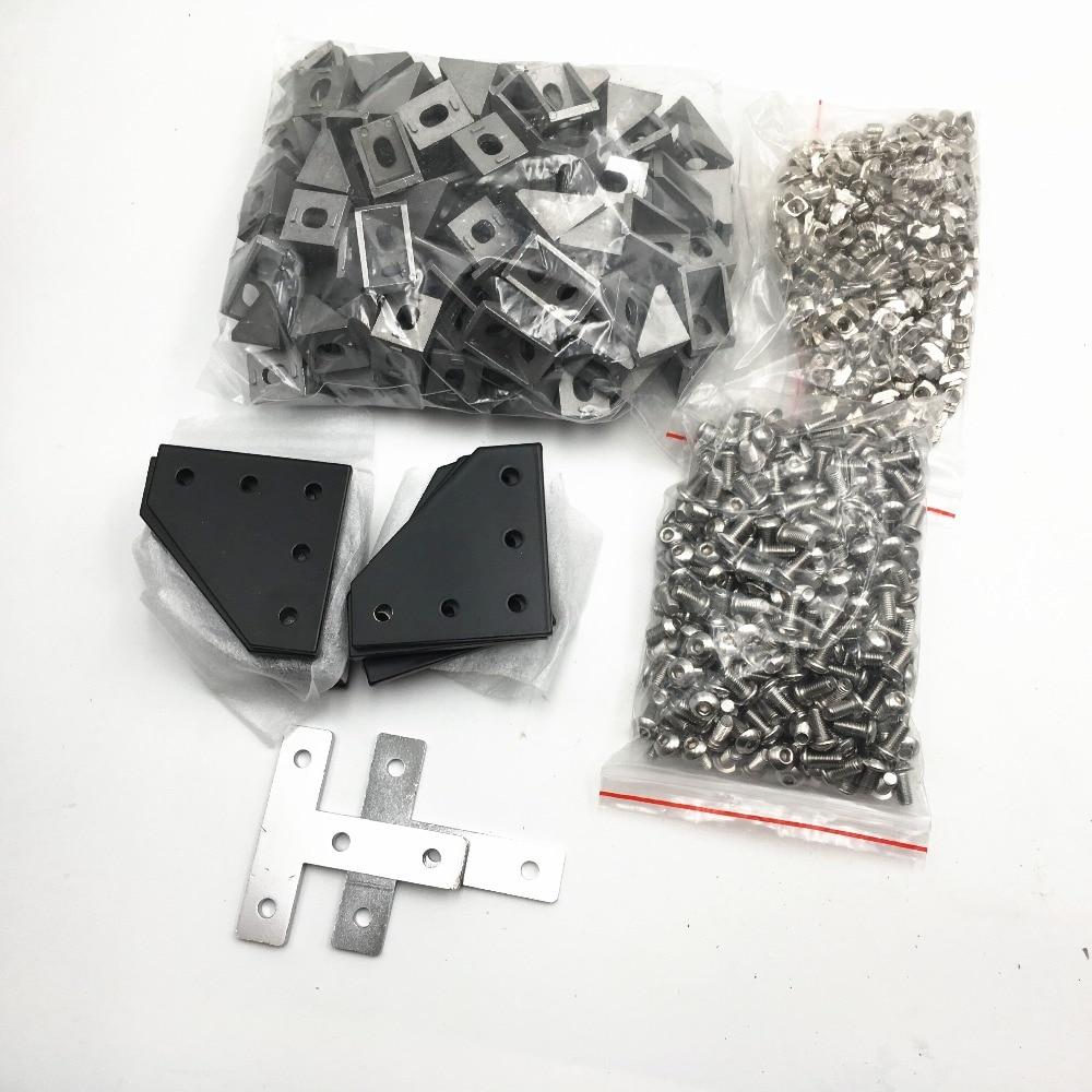 Funssor BLV mgn Cube kit de matériel de cadre pour bricolage CR10 Anet E12 imprimante 3D