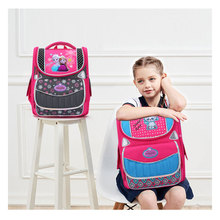 Lovely Cartoon Kids Orthopedic Backpack Teens Beauty Printing Packs Girls Primary Shoolbags High Quality Mochila Infantil