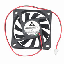 1pcs/Lot GDT DC 2P 6CM Brushless cooling fan 60x60mmx10mm Cooler 6010s Cooling