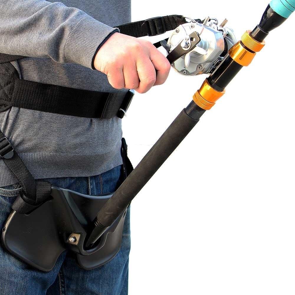 Ceinture de combat de pêche porte-canne Stand Up ceinture réglable taille porte-canne carpe outils de pêche Pesca gros poisson mer