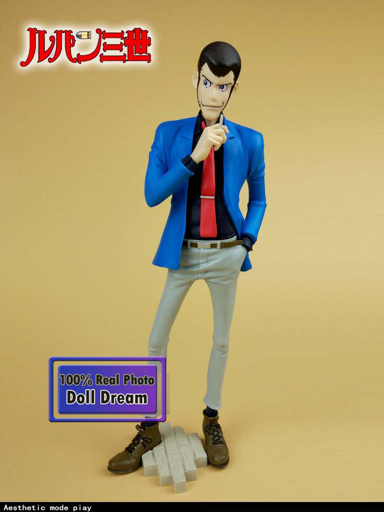 25cm Pvc Japanese Original Anime Lupin The Third Action