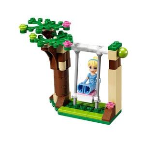 Image 4 - 697pcs Cinderella Romantic Castle Princess Friend Building Blocks For Girl Sets Gift Toys Compatible Lepining Friends Bricks